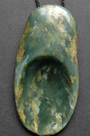 Natural Touch Stone Beach Pebble (Rare Jade Type)