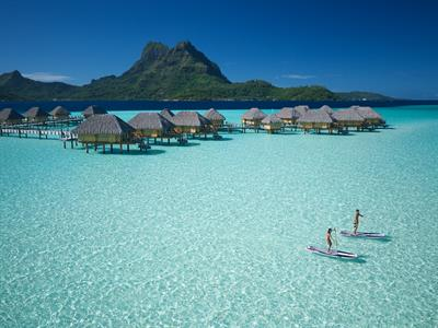 Bora Bora Water Activities - Bora Bora Pearl Beach Resort & Spa - Stand up paddle - lagoon
