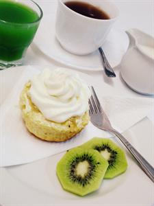 cruise ship morning tea