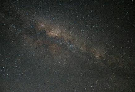 Night sky Milky Way Villa del Lago