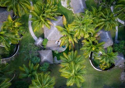 a - Bora Bora Pearl Beach & Spa - Aerial Garden Po Bora Bora Pearl Beach Resort & Spa