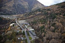 Ariel view of hotel