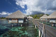 4a - Le Meridien Resort Tahiti - Overwater Bungalo Tahiti Ia Ora Beach Resort