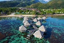 a - Le Meridien Resort Tahiti - Aerial Tahiti Ia Ora Beach Resort