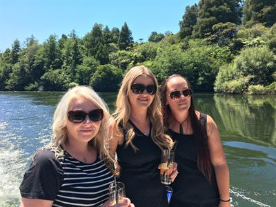 Enjoying the sun