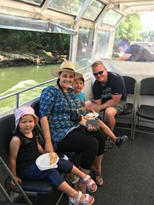 Family time Waikato River Explorer