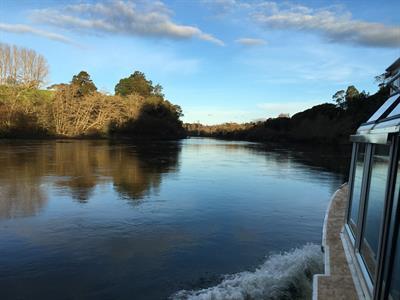 glassy river Waikato River Explorer