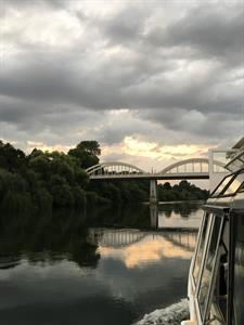 Stormy river Waikato River Explorer