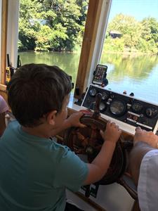 Young apprentice Waikato River Explorer