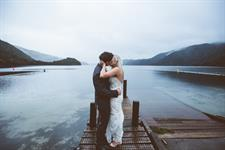 Romantic Lakeside Wedding Lakes Lodge Wilderness Retreat