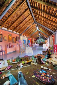 a - LMRT - L'Atelier local artists studio at the r