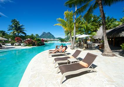 b - Bora Bora Pearl Beach & Spa - Swimming Pool2