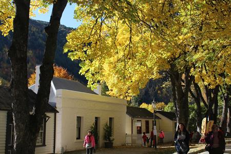 Autumn Arrowtown 2018 Villa del Lago