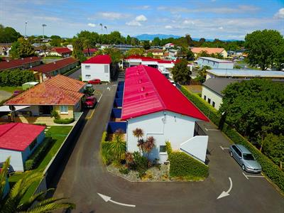 Carpark Aaron Court Motel Hamilton